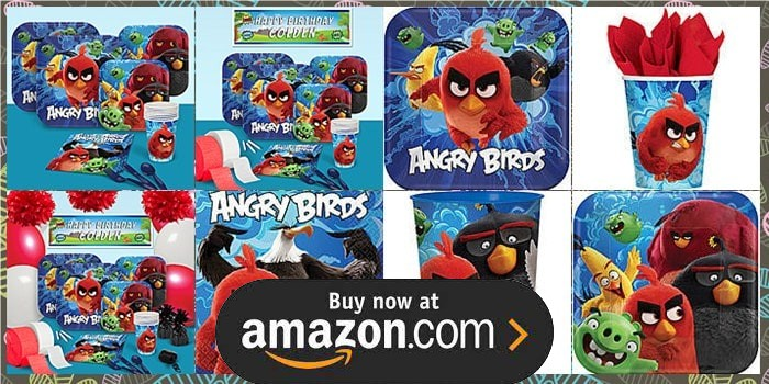 Angry birds birthday supplies the birthday depot for Angry birds birthday party decoration ideas