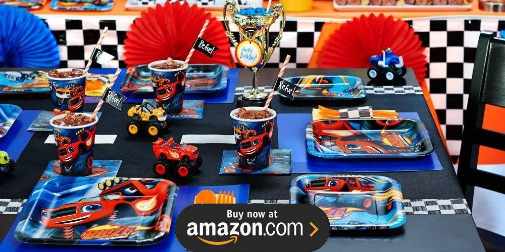 Blaze And The Monster Machines Birthday Supplies The