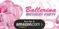 Ballerina Birthday Supplies