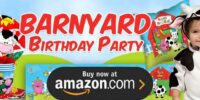 Barnyard Farm Animals Birthday Supplies