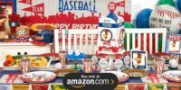 Baseball Time Personalized Birthday Supplies