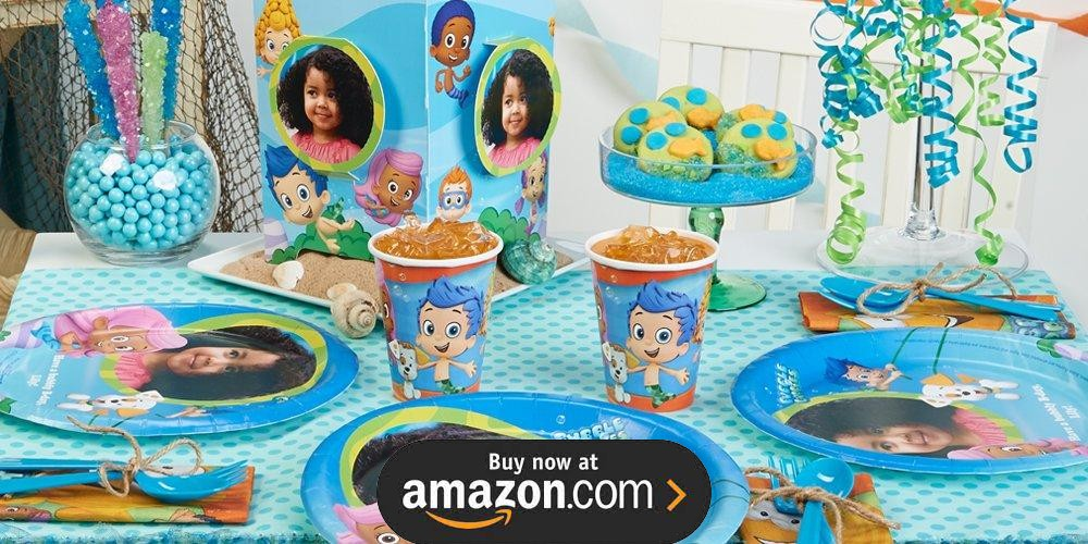 Bubble Guppies Personalized Birthday Supplies The Birthday