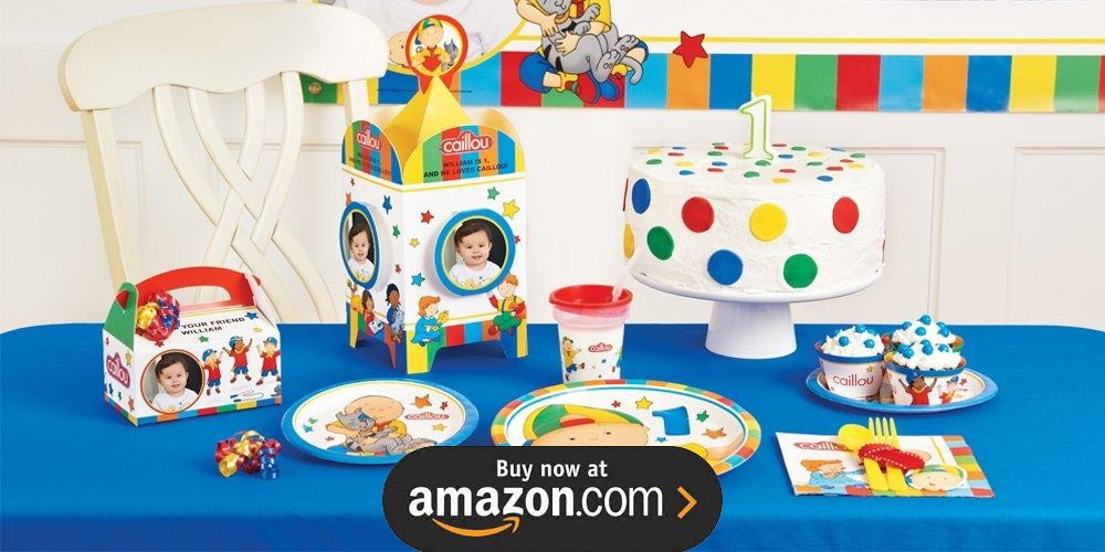 Caillou Birthday Supplies - THE Birthday Depot