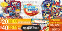 DC Super Hero Girls Birthday Supplies