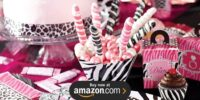 Diva Zebra Print Birthday Supplies