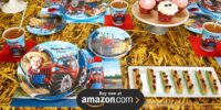 Farm Tractor Personalized Birthday Supplies