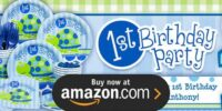 First Birthday Turtle Birthday Supplies
