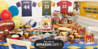 Football Game Time Personalized Birthday Supplies