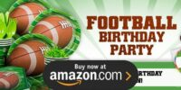 Football Birthday Supplies
