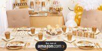 Glittering Gold Birthday Supplies