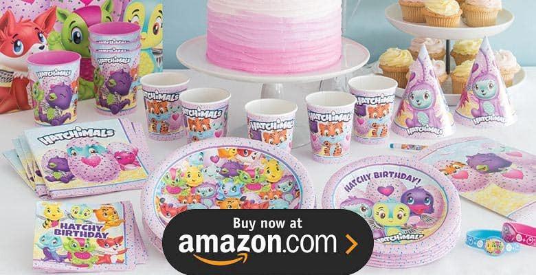 Hatchimals Birthday Supplies