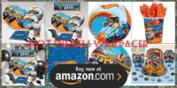 Hot Wheels Wild Racer Birthday Supplies