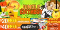 Jungle Birthday Supplies