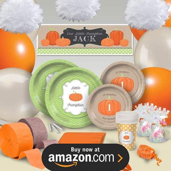 Lil Pumpkin Birthday Supplies