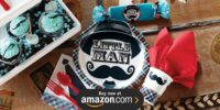 Little Man Mustache Birthday Supplies