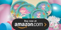 Mermaid Princess Birthday Supplies