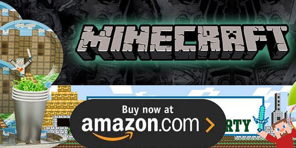 Minecraft Birthday Supplies