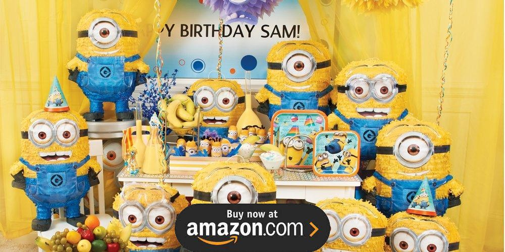Minions Despicable Me Birthday Supplies