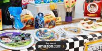 Monster Jam 3D Personalized Birthday Supplies