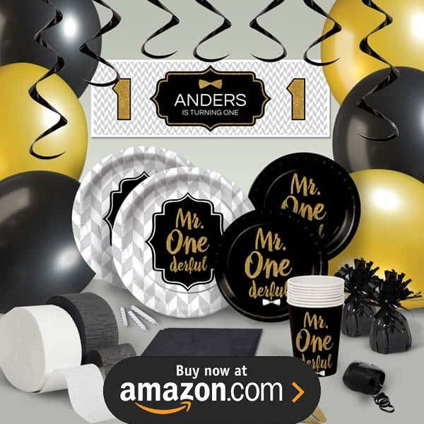 Mr ONEderful Party Supplies