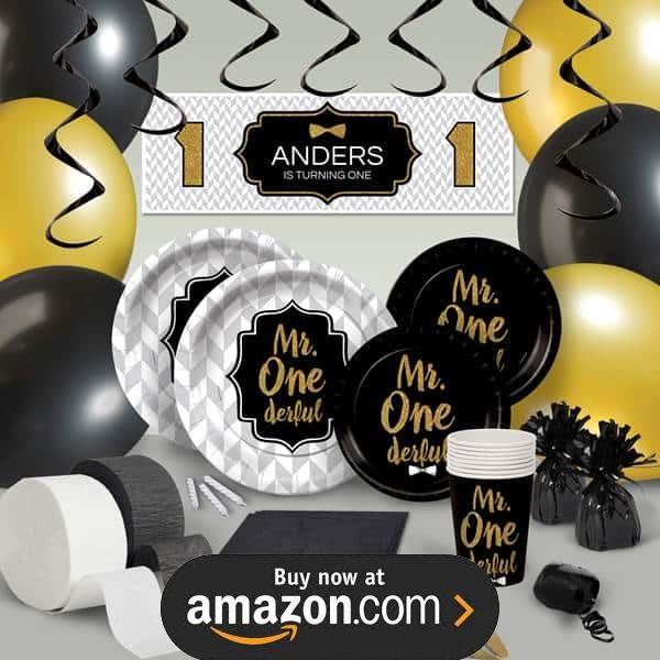 Mr ONEderful Birthday Supplies