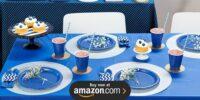 Navy Blue Birthday Supplies