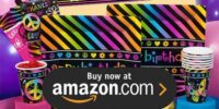 Neon Birthday Supplies