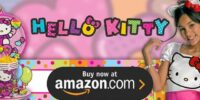 Neon Hello Kitty Birthday Supplies