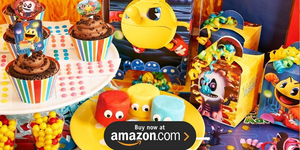 PAC-MAN and the Ghostly Adventures Birthday Supplies