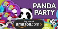 Panda Birthday Supplies