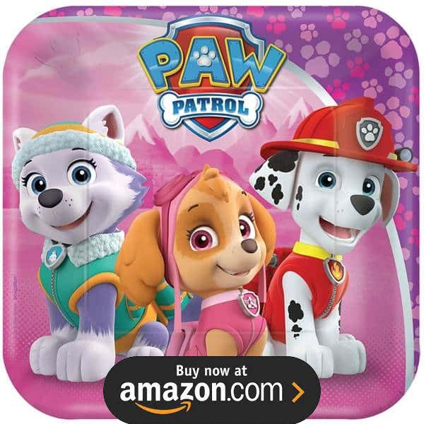 Paw Patrol Girls Party Supplies