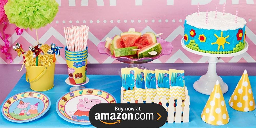 images party decor anniversary pig cake birthday ideas games best on peppa decorations third pinterest catchmyparty