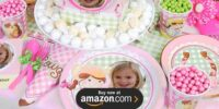 Pink Cowgirl Personalized Birthday Supplies