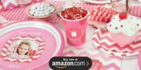 Pink Personalized Birthday Supplies