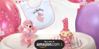 Pink Poodle in Paris 1st Birthday Supplies