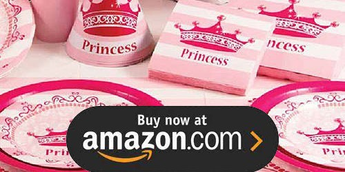 Pink Princess Royalty Birthday Supplies