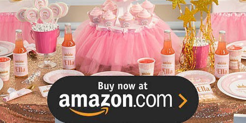 Pink Provincial Princess Birthday Supplies