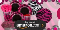 Pink Zebra Boutique Birthday Supplies