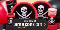 Pirate Skull and Swords Birthday Supplies