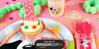 Playful Puppy Pink 1st Birthday Supplies