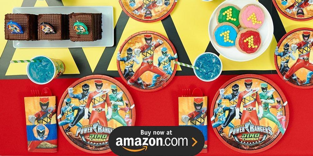 Power Rangers Dino Charge Birthday Supplies - THE Birthday