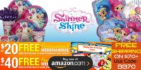 Shimmer and Shine Birthday Supplies