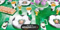 Soccer Personalized Birthday Supplies
