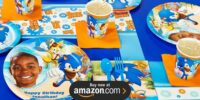 Sonic Boom Personalized Birthday Supplies