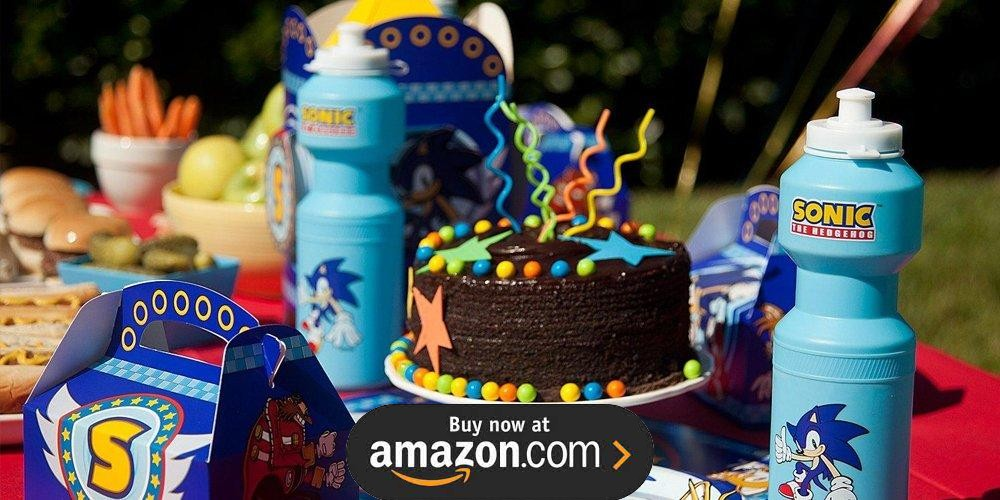 Sonic The Hedgehog Birthday Supplies The Birthday Depot