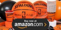 Spalding Basketball Birthday Supplies
