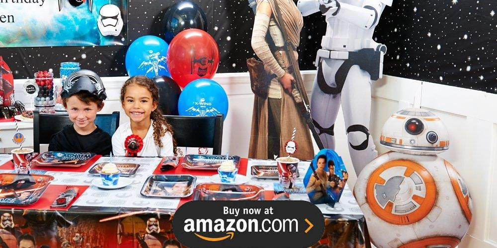 Star Wars 7 The Force Awakens Birthday Supplies