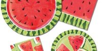 Watermelon Summer Picnic Birthday Supplies