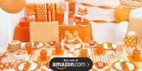 Sunkissed Orange Birthday Supplies
