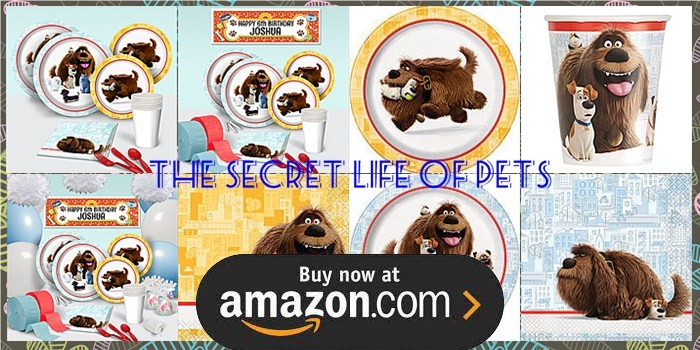 the secret life of pets birthday supplies   the birthday depot